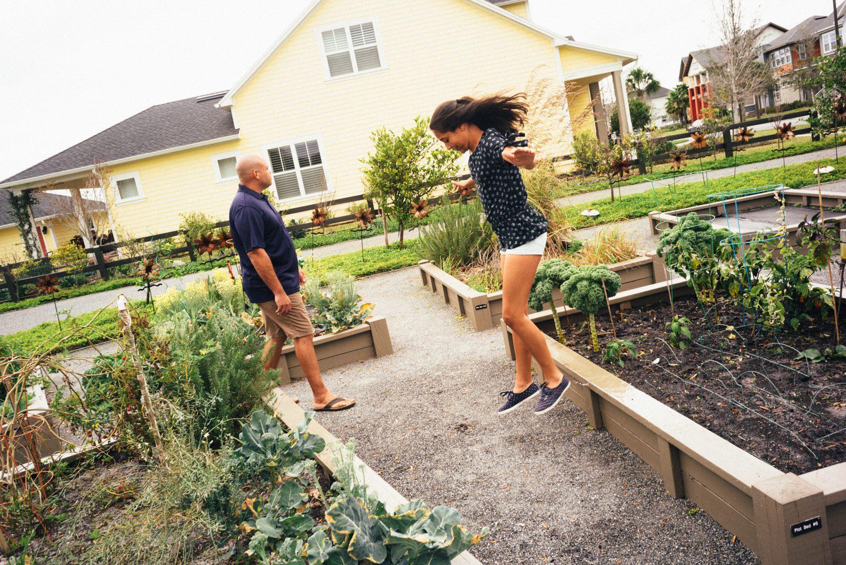 Laureate Park Community Garden - Laureate Blvd 1