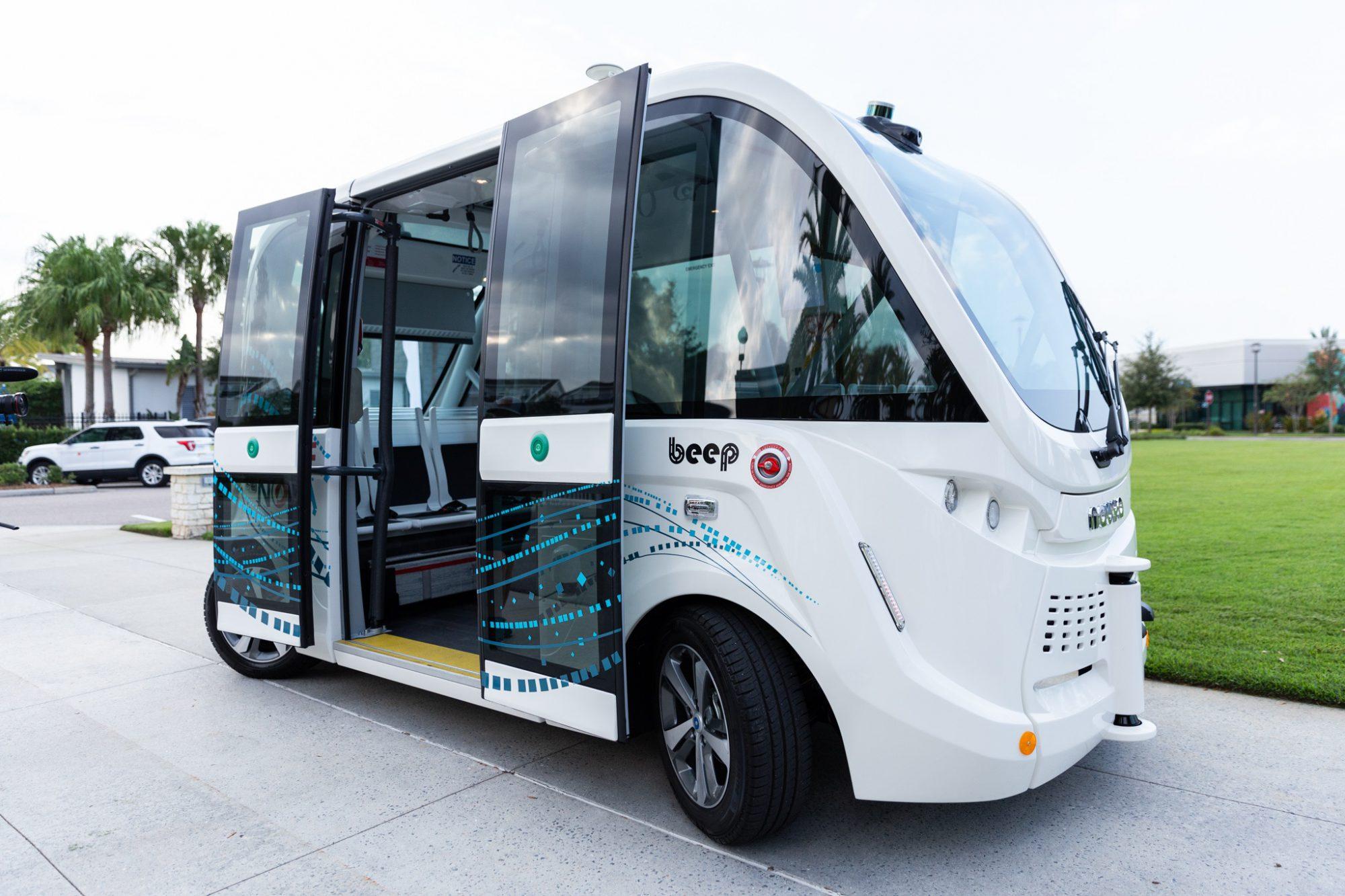 Beep Autonomous Vehicles: Move Nona 1