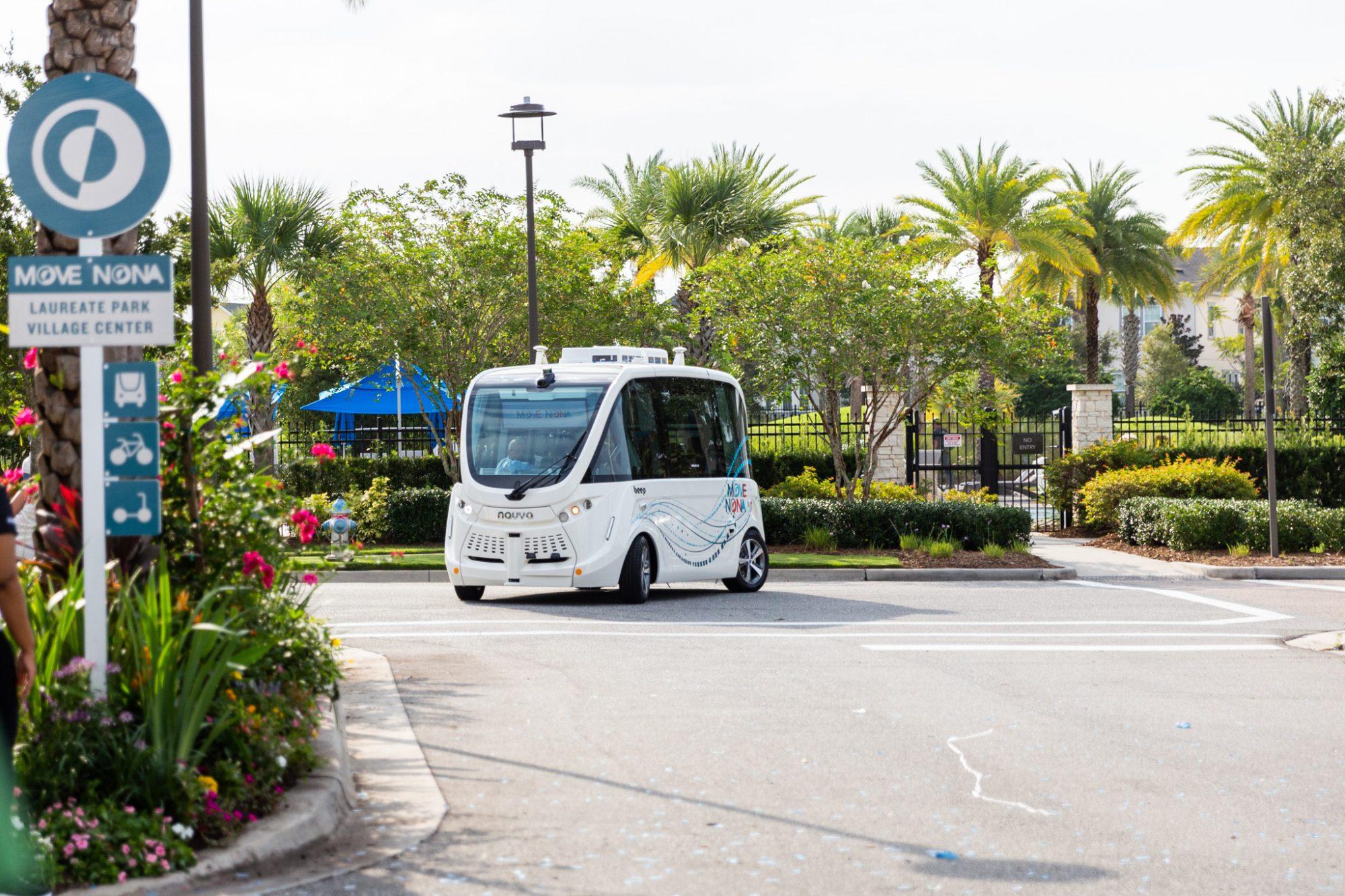 Beep Autonomous Vehicles: Move Nona 6