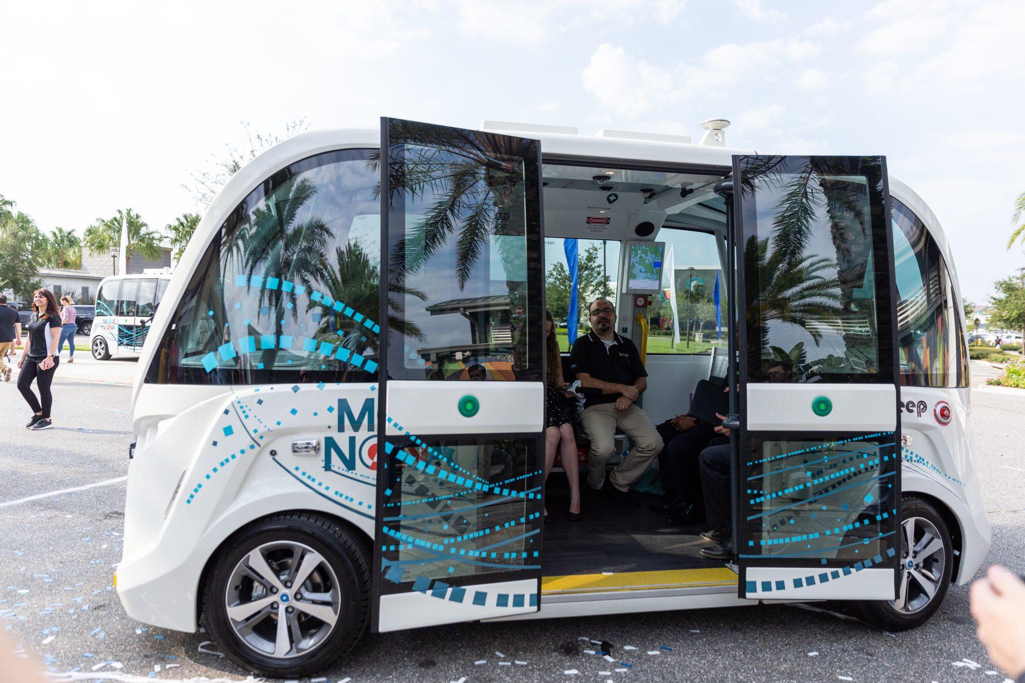 Autonomous Vehicles: Move Nona 3