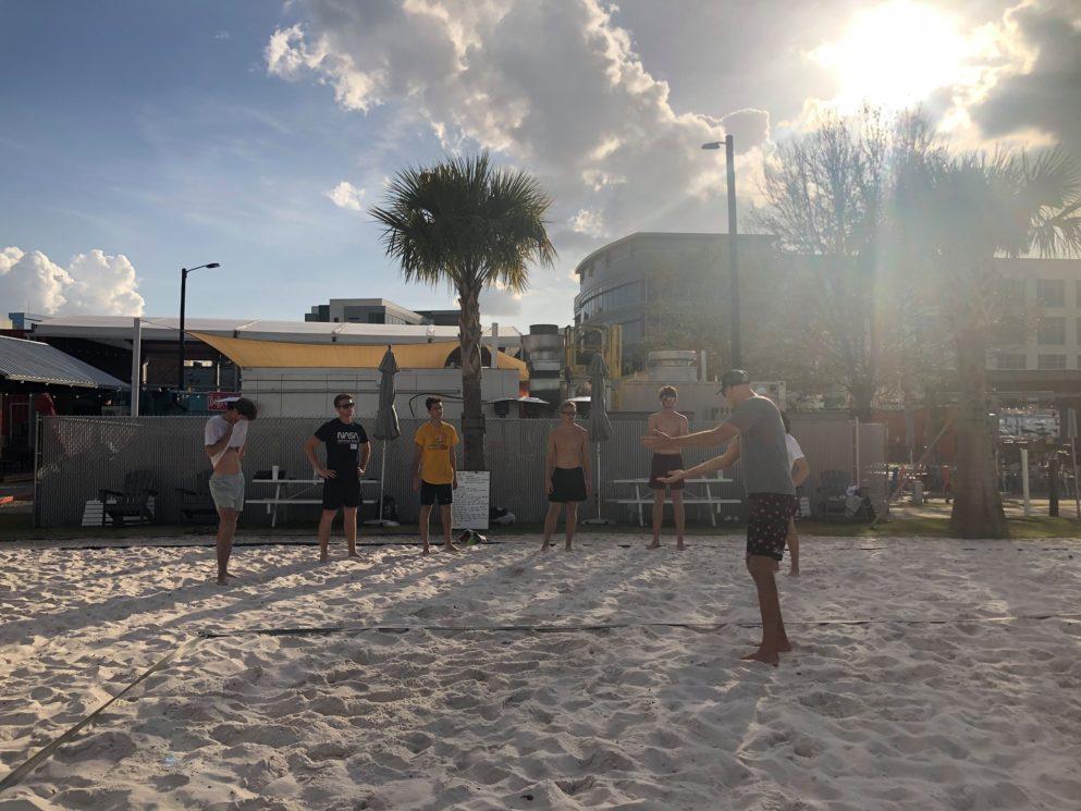 Phil daulhausser volleyball