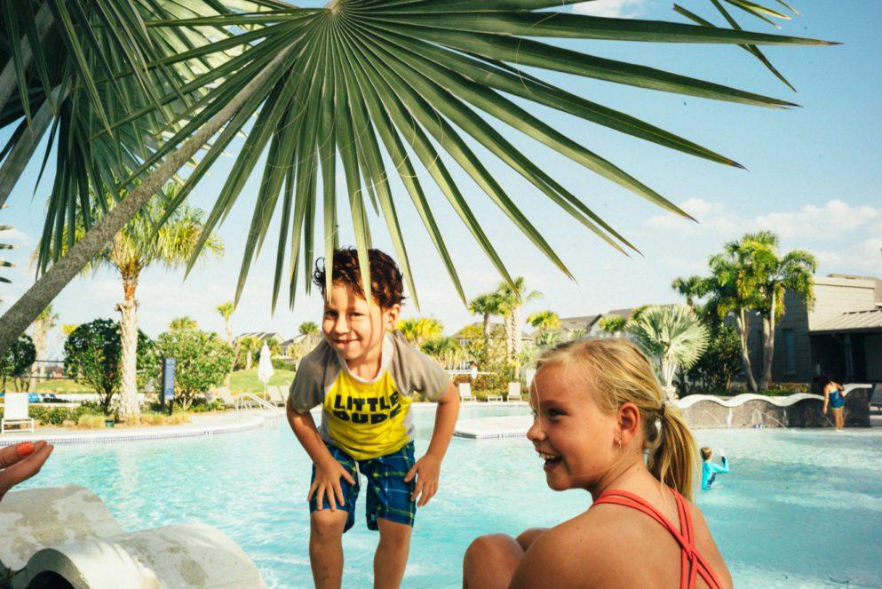 kids at laureate park aquatic center pool